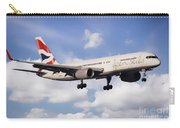 British Airways Boeing 757 Open Skies Carry-all Pouch