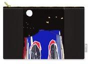 Brooklyn Bridge Blue Carry-all Pouch