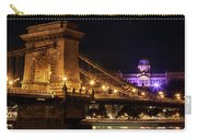 Budapest City By Night Carry-all Pouch