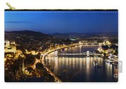 Budapest. View From Gellert Hill Carry-all Pouch by Michal Bednarek