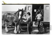 Budweiser Clydesdales Los Vaqueros Rodeo Parade Tucson Arizona 1984 Carry-all Pouch