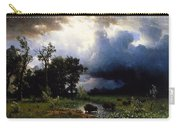 Buffalo Trail  The Impending Storm Carry-all Pouch