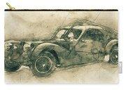 Bugatti Type 57 - Atlantic 3 - 1934 - Automotive Art - Car Posters Carry-all Pouch
