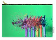 Bullet Hitting Crayons Carry-all Pouch