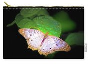 White Peacock Butterfly Wonderland A Series  Carry-all Pouch