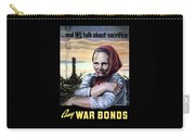 Buy War Bonds Carry-all Pouch
