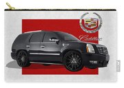 Cadillac Escalade With 3 D Badge  Carry-all Pouch