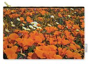 California Poppies Desert Dandelions California Carry-all Pouch