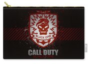 Call Of Duty Black Ops Carry-all Pouch