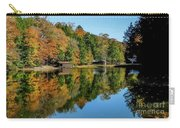 Camp Blanton Autumns Reflection Carry-all Pouch