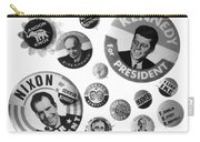 Campaign Buttons Carry-all Pouch