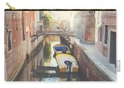 Canals Of Venice With Instagram Vintage Style Filter Carry-all Pouch
