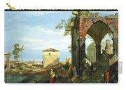 Capriccio With Motifs From Padua Carry-all Pouch