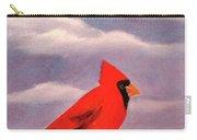 Cardinal Christmas Carry-all Pouch