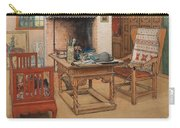 Carl Larsson - Peek-a-boo 1901 Carry-all Pouch