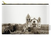 Carmel Mission By A.j. Perkins 1880 Carry-all Pouch