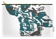 Carson Wentz Philadelphia Eagles Pixel Art 5 Carry-all Pouch