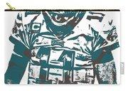 Carson Wentz Philadelphia Eagles Pixel Art 7 Carry-all Pouch