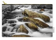 Cascading Water And Rocky Mountain Rocks Carry-all Pouch