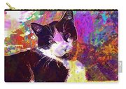 Cat Feline Pet Animal Cute  Carry-all Pouch