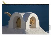 Cat On A Roof, Greece Carry-all Pouch