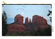 Cathedral Rock Moon 081913 A2 Carry-all Pouch