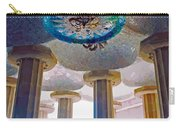 Ceiling Boss And Columns, Park Guell, Barcelona Carry-all Pouch