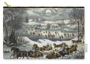 Central Park In Winter Carry-all Pouch