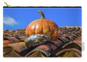 Ceramic Pumpkin On A Roof Carry-all Pouch