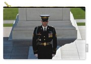 Changing Of Guard At Arlington National Carry-all Pouch by Terry Moore