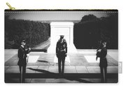 Changing Of The Guard At The Tomb Of The Unknowns At Arlington Carry-all Pouch