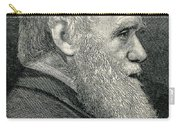 Charles Darwin, English Naturalist Carry-all Pouch
