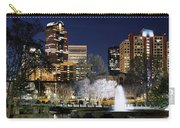 Charlotte Skyline Panorama Carry-all Pouch