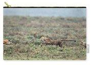 Cheetah Acinonyx Jubatus Hunting Carry-all Pouch
