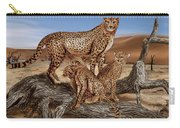 Cheetah Family Tree Carry-all Pouch