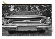 Chevrolet Bel Air Black And White 2 Carry-all Pouch