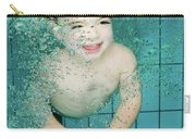 Child Swims Underwater  Carry-all Pouch