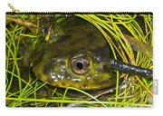 Chilean Widemouth Frog Carry-all Pouch