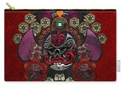 Chinese Masks - Large Masks Series - The Demon Carry-all Pouch by Serge Averbukh