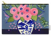 Chinoiserie Vase  Carry-all Pouch
