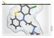 Chlorpromazine, Molecular Model Carry-all Pouch