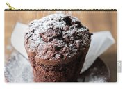 Chocolate Muffin With Powdered Sugar Carry-all Pouch