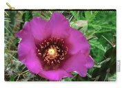 Cholla Cactus Flower Carry-all Pouch