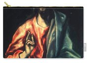 Christ As Saviour Carry-all Pouch