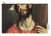 Christ Carrying The Cross Carry-all Pouch