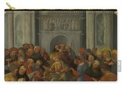 Christ Disputing With The Doctors Carry-all Pouch