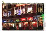 Christmas Decorations On The Buildings, Bruges City Carry-all Pouch