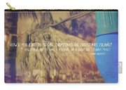 Christmas Island Quote Carry-all Pouch