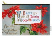Christmas Postcard Carry-all Pouch