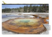 Chromatic Pool Hot Spring, Upper Geyser Carry-all Pouch by Richard Roscoe